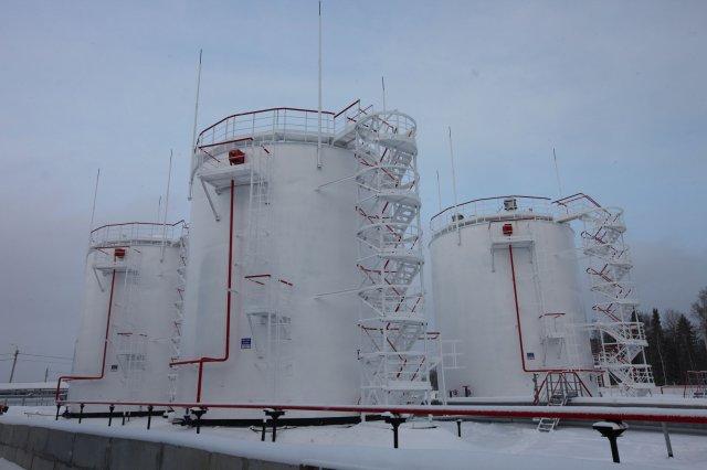 Резервуары вертикальные для