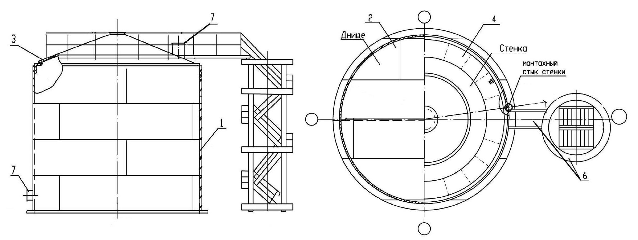 схема обвязки бака аккумулятора гвс