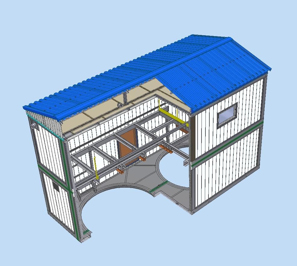 Блочно-комплектное укрытие для подземных емкостей и резервуаров (Блок-Бокс)
