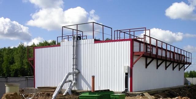 Блочно-модульные резервуары-накопители