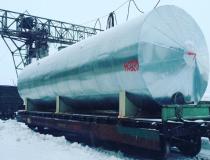 Горизонтальный резервуар с теплоизоляцией (ХМАО)