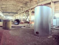 Резервуар вертикальный 10 м3 для битума