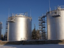 Резервуары вертикальные стальные для светлых нефтепродуктов