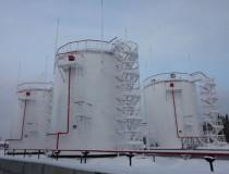 Резервуары вертикальные для нефтебазы Новый Уренгой