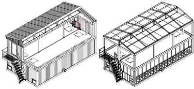 Блочно-модульные утепленные резервуары - накопители