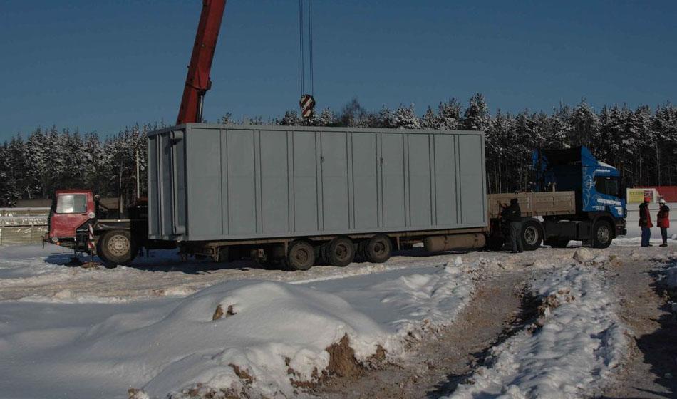 Резервуар - блочный модуль для воды