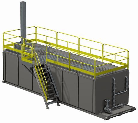 Резервуар для бурового раствора
