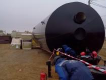 Стальные двухстенные резервуары для нефти (Транснефть)