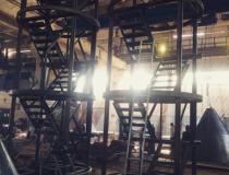 Шахтные лестницы для РВС (Тольятти)