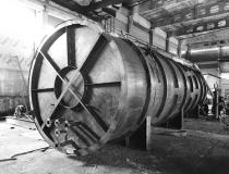 Резервуары горизонтальные с теплоизоляцией под битум