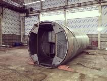 Резервуар РВС 500 м3 для темных нефтепродуктов